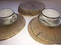 Pomôcky - drevená podložka pod tanier - 12838472_
