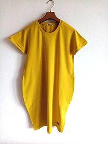Šaty - Oversize saty s kr.rukavom - 12839252_