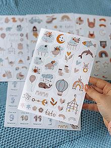 Papiernictvo - Detské nálepky 4 - 12840414_