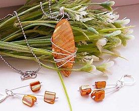 Sady šperkov - Drôtikovaný set - Annie - 12842646_