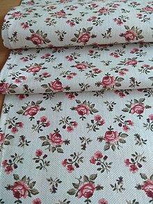 Úžitkový textil - Obrus-štóla ruže - 12840676_