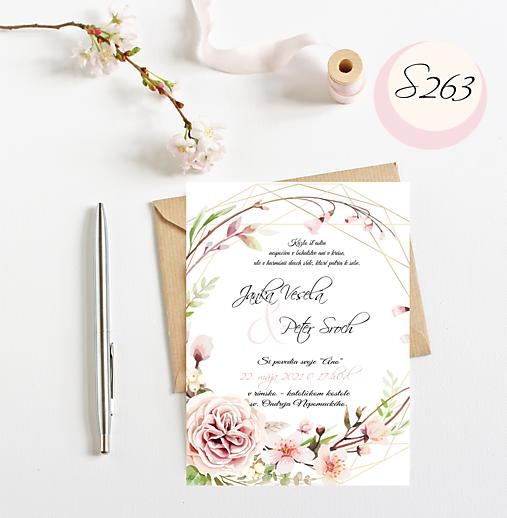 svadobné oznámenie 263