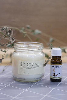 Svietidlá a sviečky - Sviečka Antitabacco - 12843070_