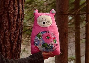 Úžitkový textil - vankúš: m a c o - cukrík - 12845749_