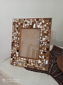 Rámiky - Mozaikový rámik na fotku - 12846882_