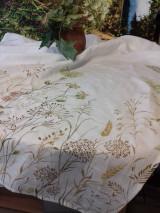 Ľanový maľovaný obrus
