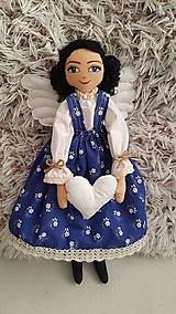 Bábiky - Anjelka - strážkyňa šťastného domova - 12844406_