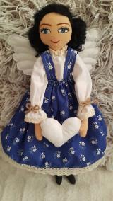 Bábiky - Anjelka - strážkyňa šťastného domova - 12844412_