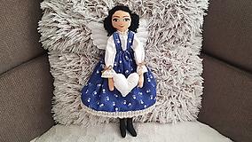 Bábiky - Anjelka - strážkyňa šťastného domova - 12844413_