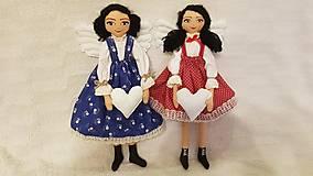 Bábiky - Anjelka - strážkyňa šťastného domova - 12844506_