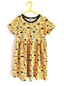 Detské oblečenie - Šaty so zvieratkami - 12848001_