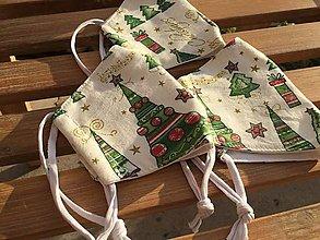 Rúška - výpredaj vianočné rúško veľkosť S ....4 - 12846686_