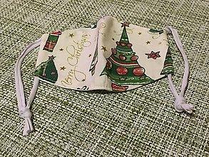 Rúška - výpredaj vianočné rúško veľkosť XS ....5 - 12846799_