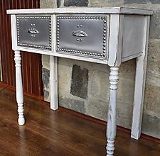 Nábytok - Stôl Industry - 12847928_