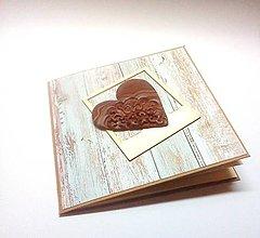 Papiernictvo - Pohľadnica ... s chuťou čokolády - 12851157_
