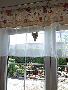 Úžitkový textil - Záclona  - 12848268_