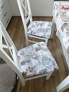 Úžitkový textil - Podsedáky na stoličky - 12849329_