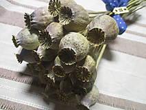Dekorácie - Maková kytica - 12850949_