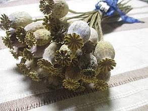Dekorácie - Maková kytica - 12850966_