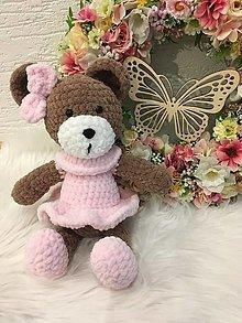 Hračky - Háčkovaný medvedík - 12850330_