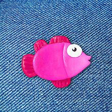 Brošne - Ryba cyklamenka - brošňa - 12848575_