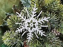 Dekorácie - *** háčkovaná snehová vločka - X*** - 12853839_