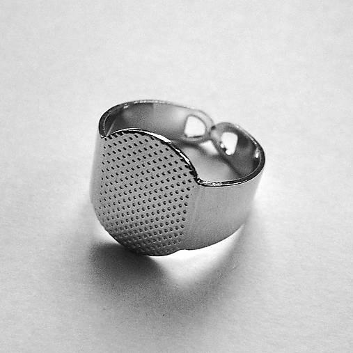 Prsteň s plôškou-1ks