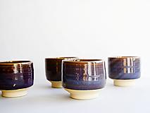 Nádoby - Chawan fialový /čajová miska/ - 12852829_