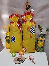 Veľkonočné vrecúško pre kupačov na výslužku_ sliepočka a vajíčka
