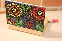 Krabičky - Drevená šperkovnica DETI KVETOV - 12854651_