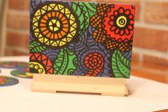 Krabičky - Drevená šperkovnica DETI KVETOV - 12854654_