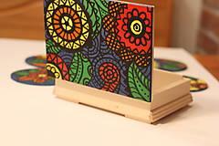 Krabičky - Drevená šperkovnica DETI KVETOV - 12854657_