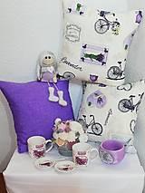 Úžitkový textil - Dekoračné obliečky na vankúše - V štýle provence - 12852258_