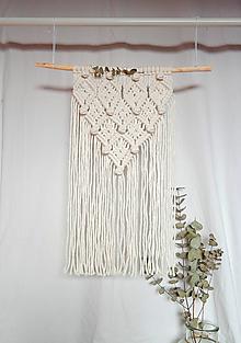 Dekorácie - Macramé Dekorácia ANNA - 12854747_
