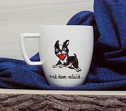 Nádoby - Hrnček psík ❤️ - 12852578_