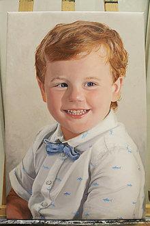 Obrazy - Chlapček - 12853575_