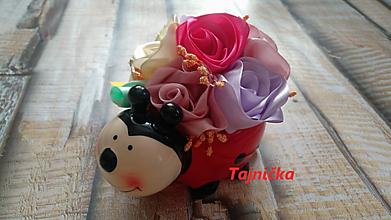 "Dekorácie - Ikebanka ""lienka"" - 12856903_"
