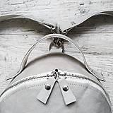 Batohy - Ruksak FUNKY backpack - svetlo sivá - 12858759_