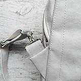 Batohy - Ruksak FUNKY backpack - svetlo sivá - 12858760_