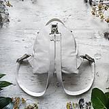 Batohy - Ruksak FUNKY backpack - svetlo sivá - 12858761_