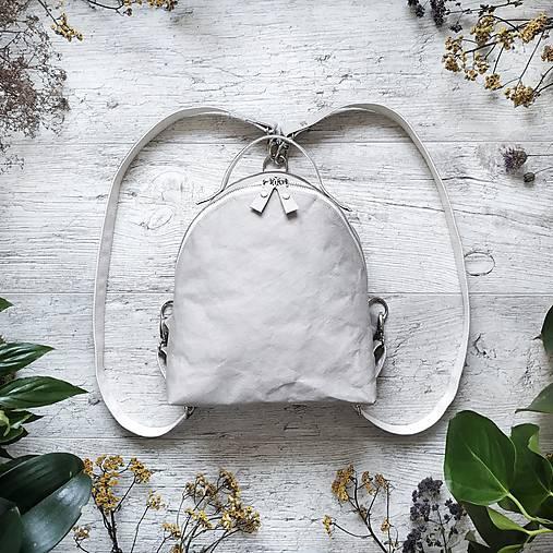 Ruksak FUNKY backpack - svetlo sivá