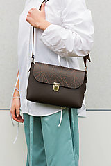 Veľké tašky - kožená kabelka_veľká - 12856834_