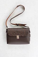 Veľké tašky - kožená kabelka_veľká - 12856837_