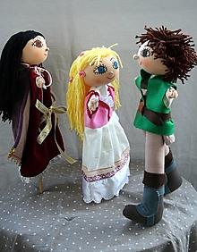 Hračky - Rozprávka. Rapunzel alebo na vlásku. - 12858832_