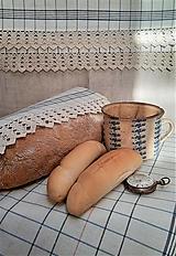 Úžitkový textil - Utierka / Plátienko na chlieb_ návrat k tradícii - 12856106_
