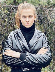 Kabáty - Latexová Bundička  - 12859008_