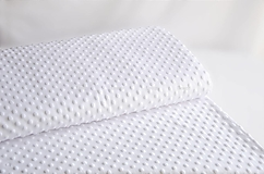 Textil - Minky biela - 12856176_
