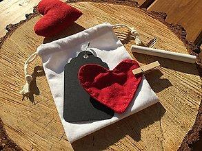 Úžitkový textil - valentínka ..... - 12858034_