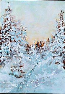 Obrazy - Krajina zrkadiel - 12858152_