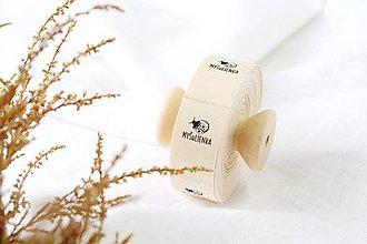 Drobnosti - Bavlnené štítky šírka 2cm - 12862391_